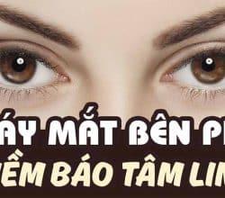 Nháy mắt phải, giật mắt phải có điềm gì, tốt hay xấu?
