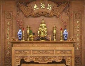 Thủ Tục & Bài cúng chuyển bàn thờ đúng phong thuỷ