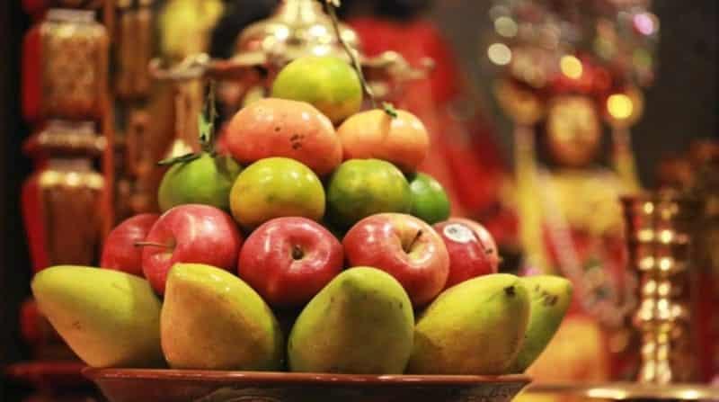 Những hoa quả không nên thắp hương