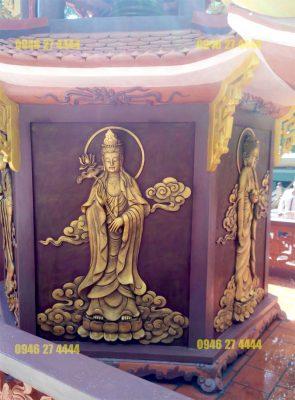 Đắp tượng Phật bằng xi măng có rất nhiều ưu điểm so với những chất liệu khác