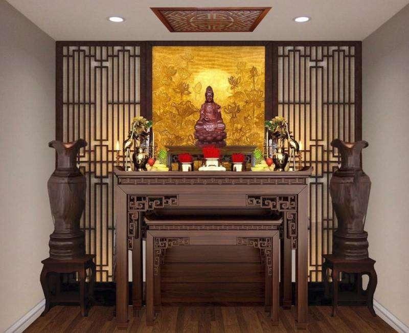 Bát hương là đồ thờ cúng quan trọng trên bàn thờ