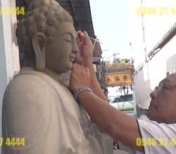 Tại sao đắp tượng Phật bằng xi măng ngày càng được ưa chuộng