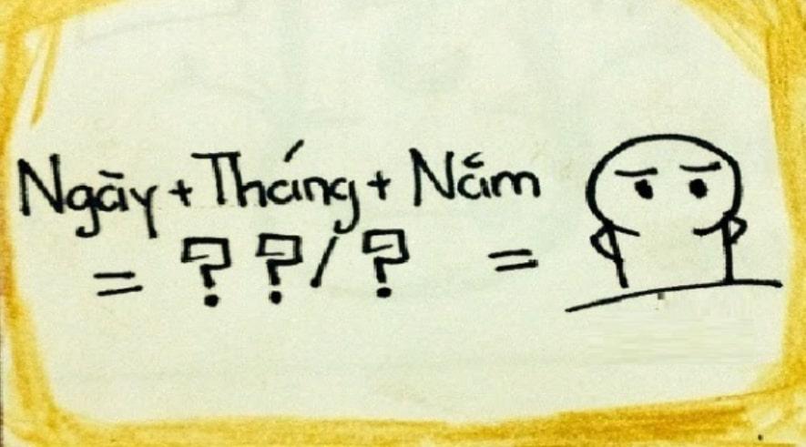Cách viết tiếng Anh khác tiếng Việt