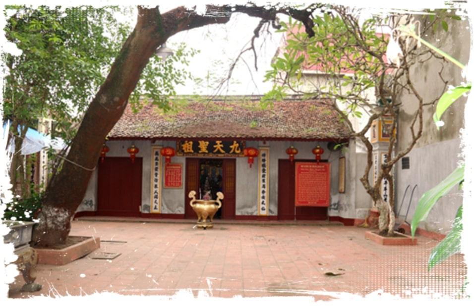 Đền Cửu Thiên Huyền Nữ tại Hưng Yên (Ảnh hyn.dalatcity.org)