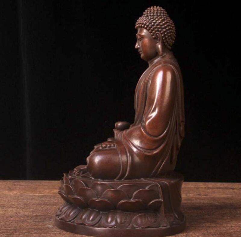 Tượng Phật để ô tô bằng đồng thau tại Hà Nội