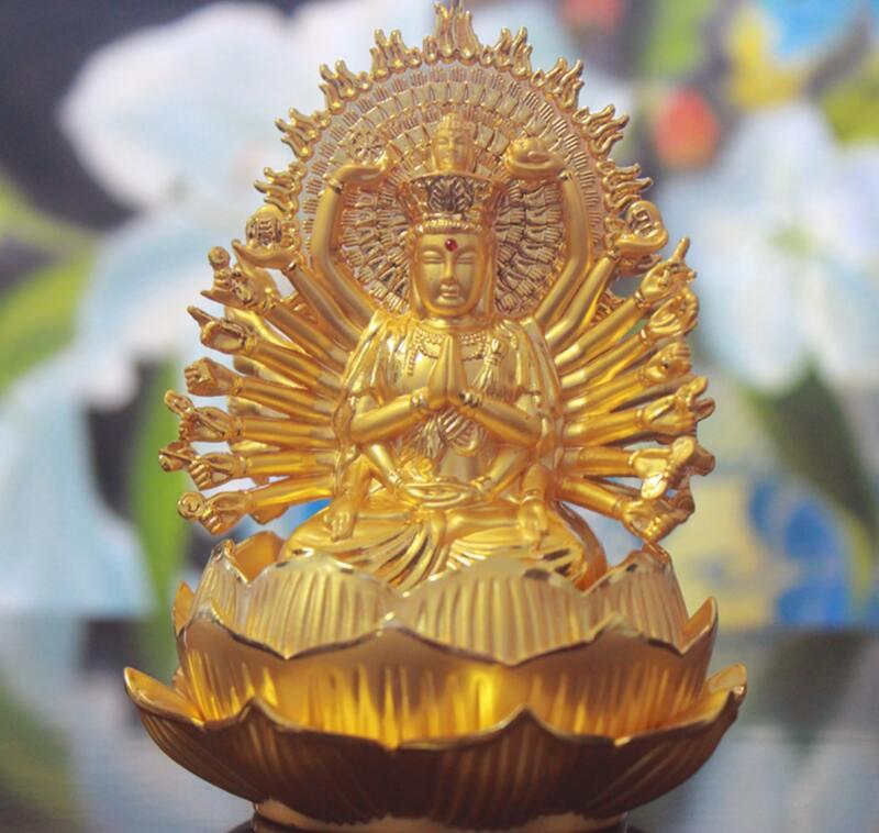 Tượng Phật Thiên Thủ Thiên Nhãn để xe hơi