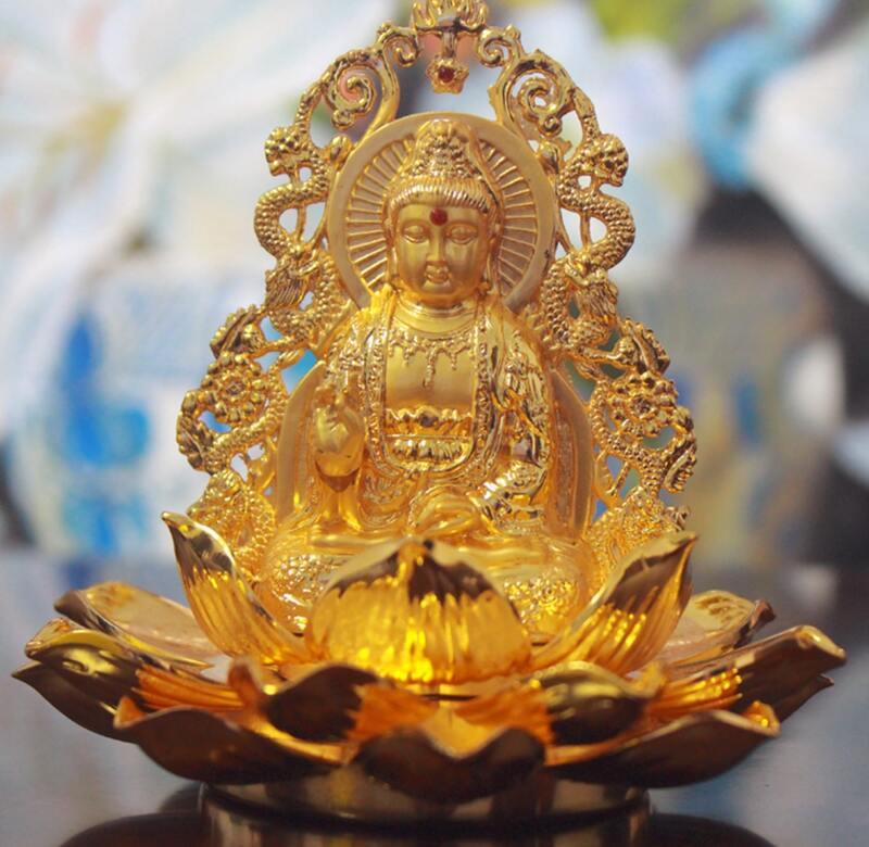 Tượng Phật Quan Âm để xe ô tô