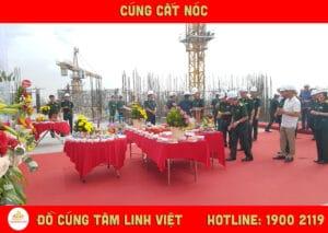 Lễ cất nóc do Đồ Cúng Tâm Linh Việt thực hiện
