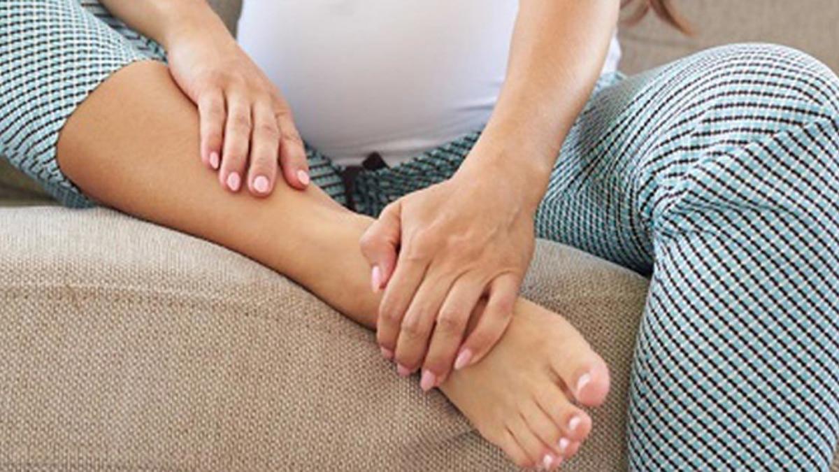 độ lạnh của bàn chân khi mang bầu
