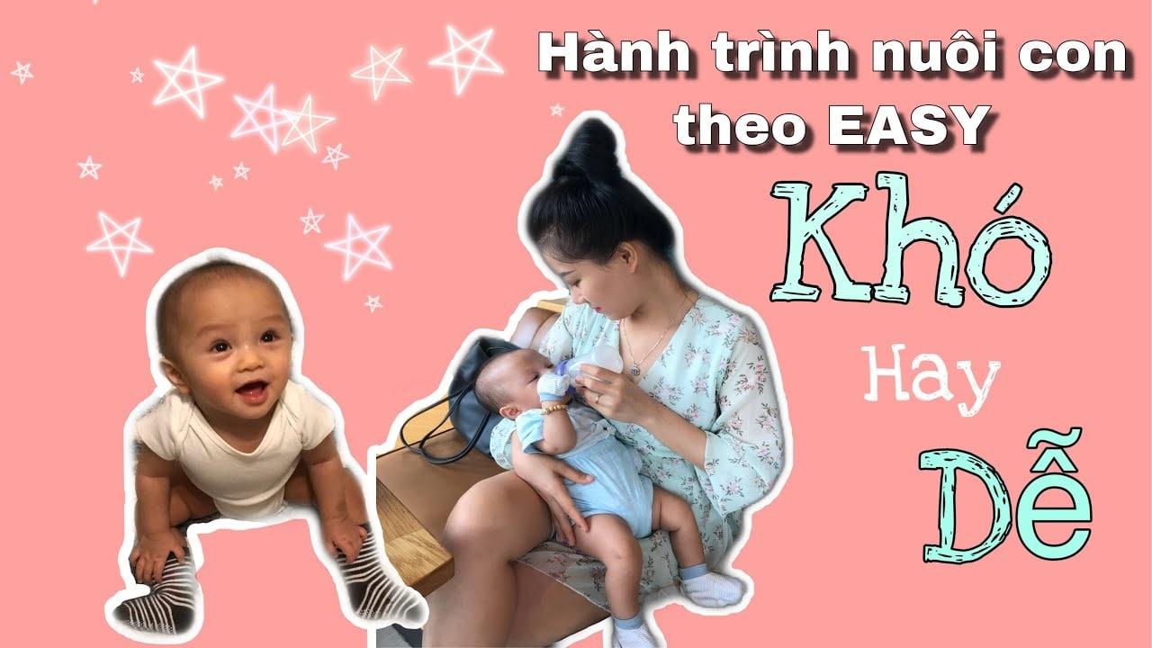 Nhiều người thường gặp khó khăn khi nuôi con bằng phương pháp EASY