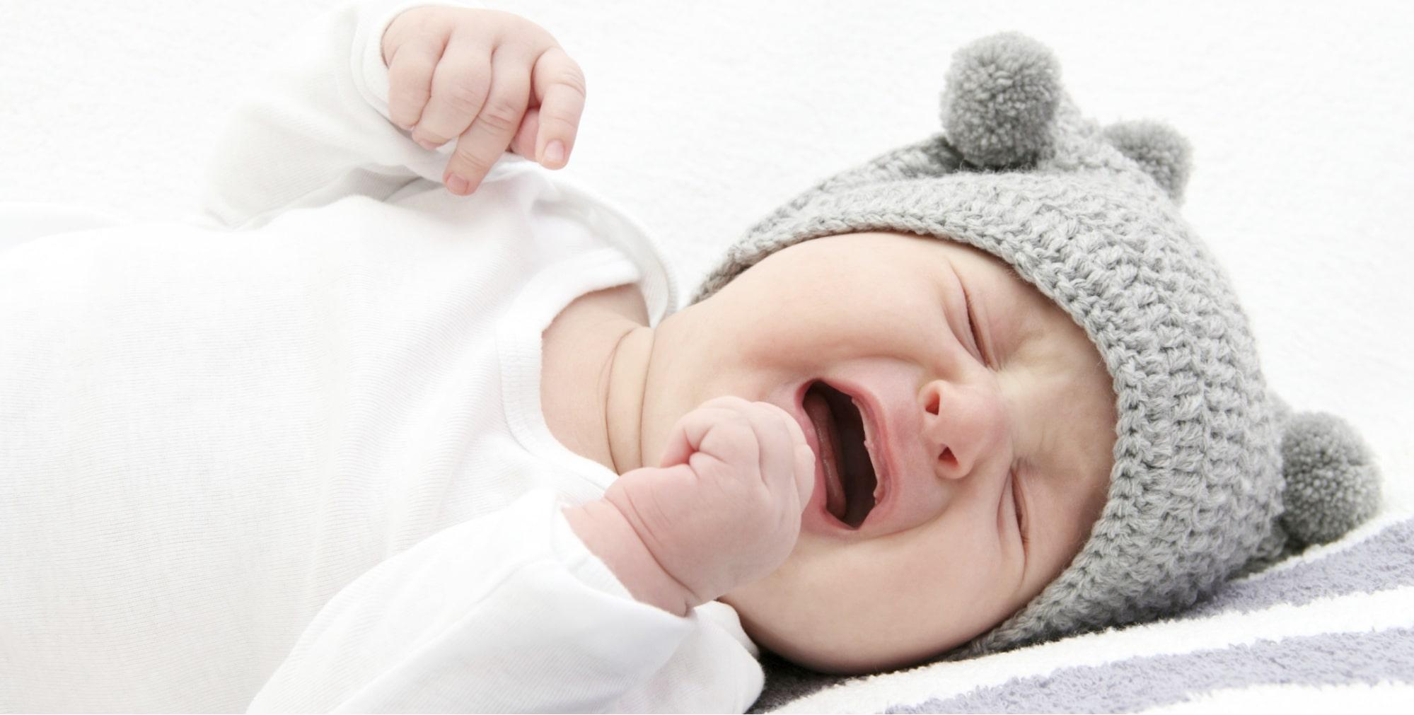 Trẻ thiếu sắt dễ bị cáu gắt hoặc hay khóc
