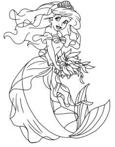 Tô Màu Công Chúa Ariel