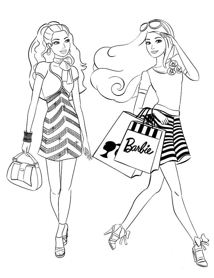 barbie di mua sắm 1