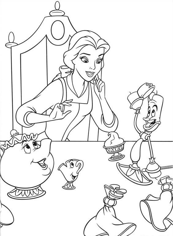 belle và những người bạn