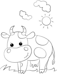 bò sữa mỉm cười