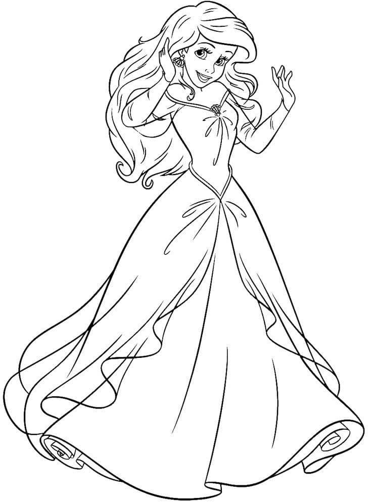 công chúa ariel duyên dáng