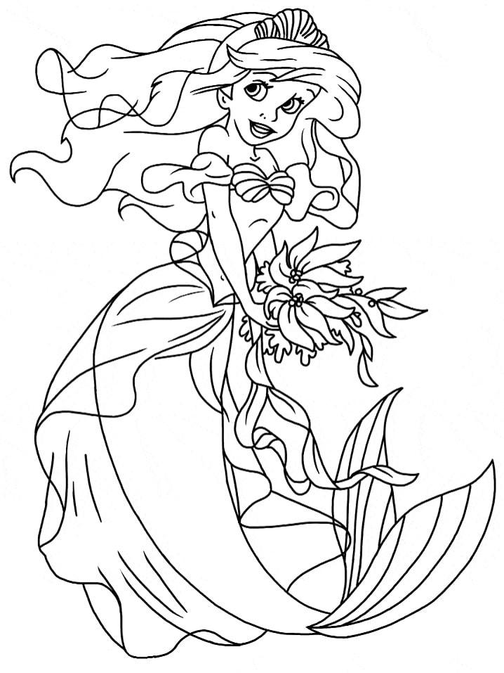 công chúa ariel lộng lẫy