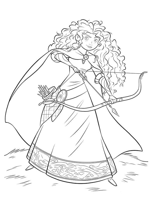 công chúa merida bắn cung 1