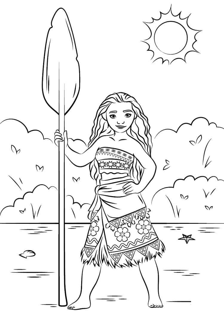 công chúa moana