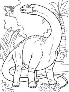 con khủng long cổ dài