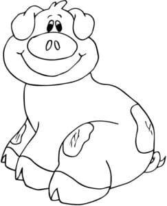 cú lợn mỉm cười