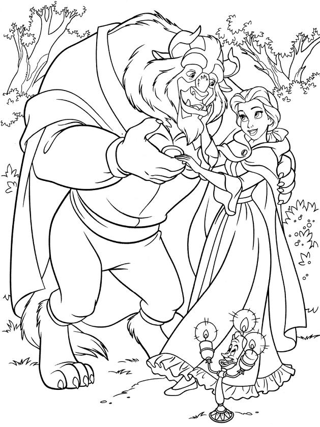 quái vật và belle khiêu vũ