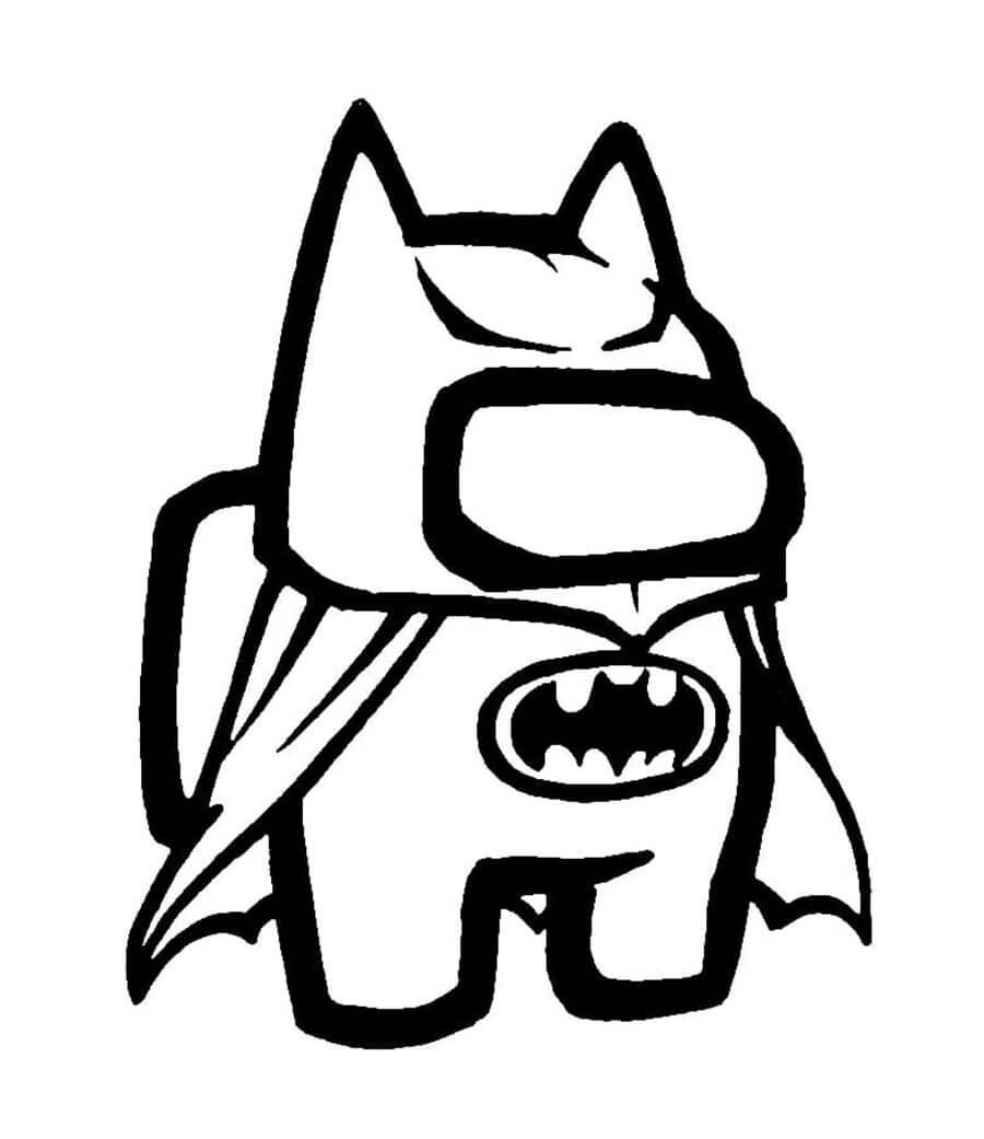 to mau among us batman