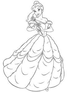 Tô Màu Công Chúa Giselle